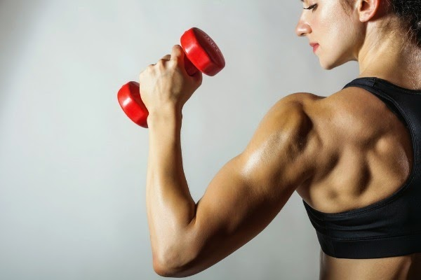 Put your dumbbells to work at home