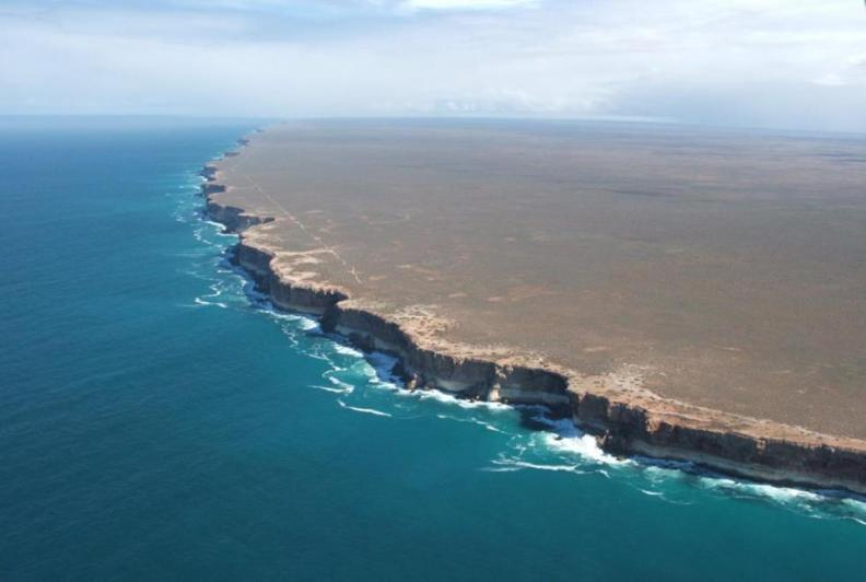 nullarbor cliff