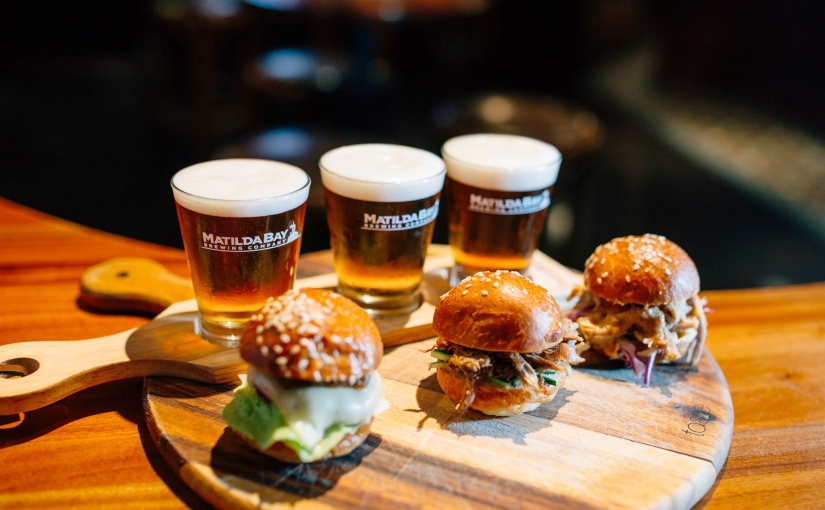 Up for some beer and sliders?